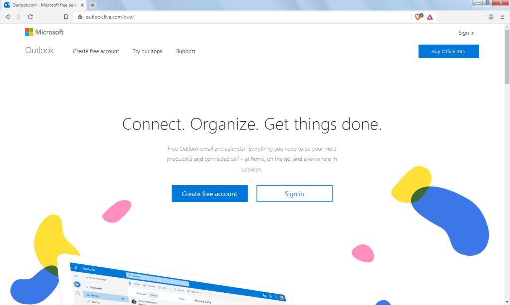 How to register in Hotmail? Sign up Hotmail