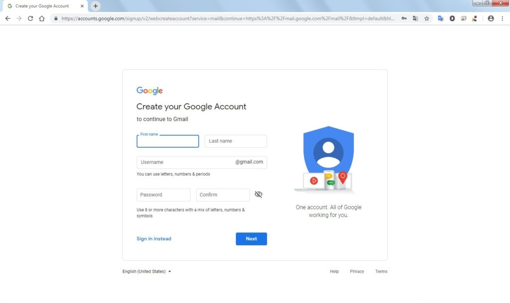Advantages of having Gmail - Sign up Gmail
