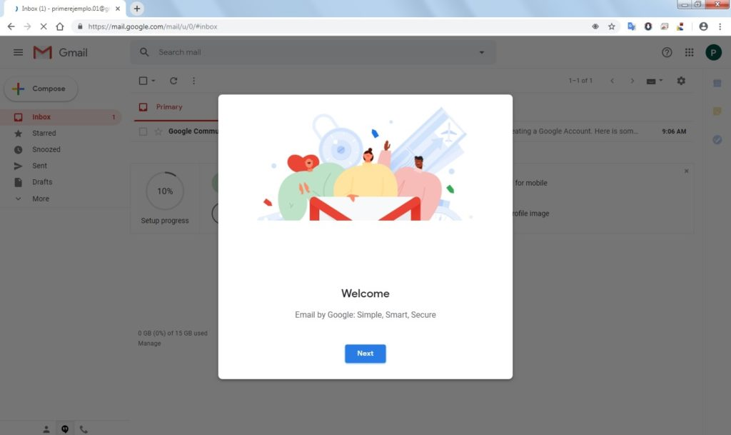How to log in to my Gmail account?