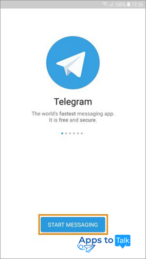 Create new Telegram Account